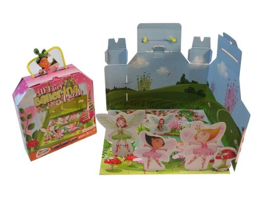 3D SCENE BOX PUZZLE BALLERINA